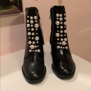 Zara Pearl Boots